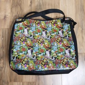 Ed Hardy True My Love Geisha Tote
